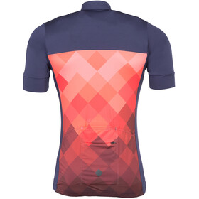 Triple2 Velozip Performance Maillot Hombre, living coral
